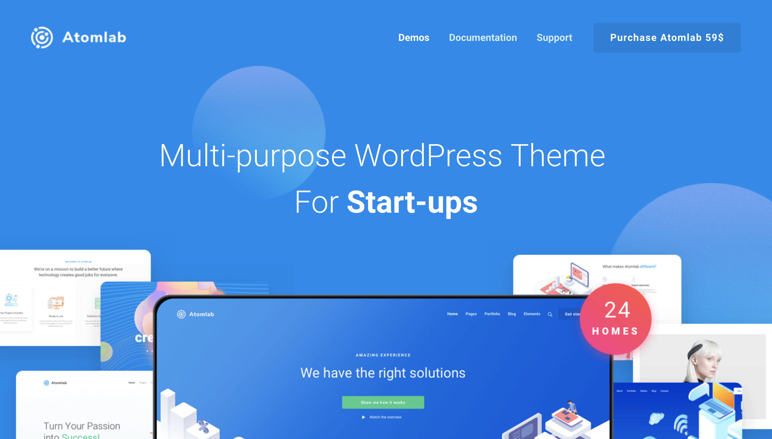 Atomlab – Multi-Purpose Startup WordPress Theme.png