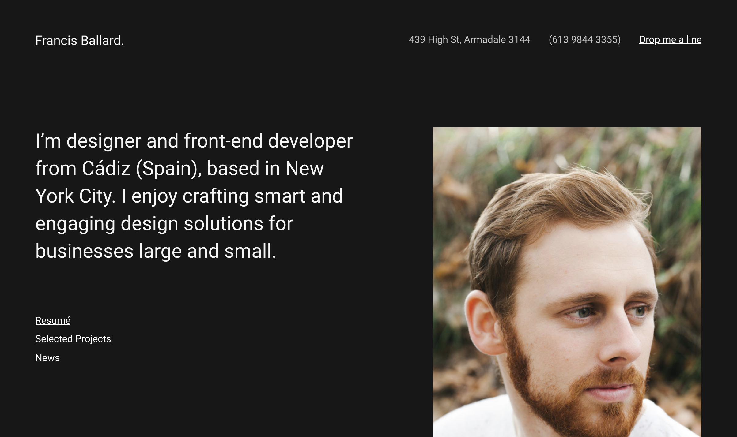 Ballard - Responsive CV WordPress Theme.png