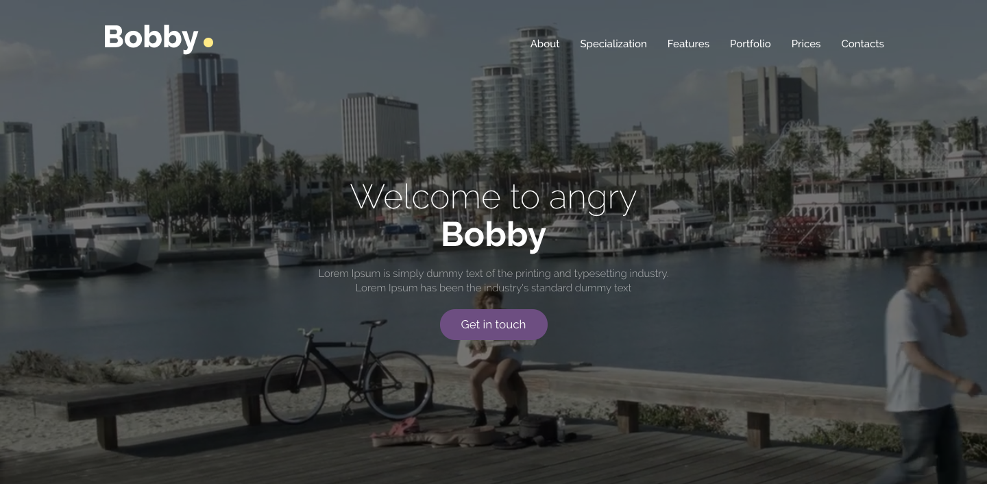 Bobby - Creative Services Onepage | Multipage WordPress Theme.png
