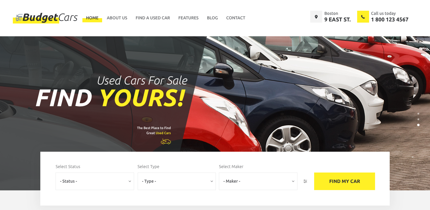 Budget Cars | Used Car Dealer & Store WordPress Theme.png