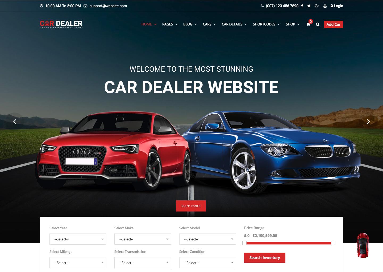Car Dealer - The Best Car Dealer Automotive Responsive WordPress Theme.png