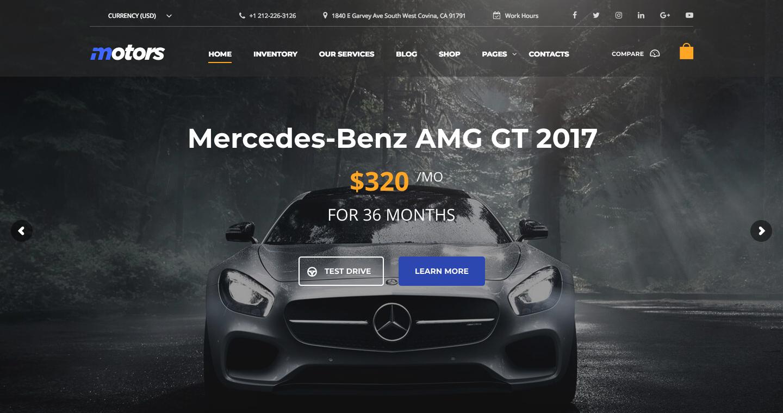 Car Dealership, Rental and Classified WordPress Theme – Motors.png