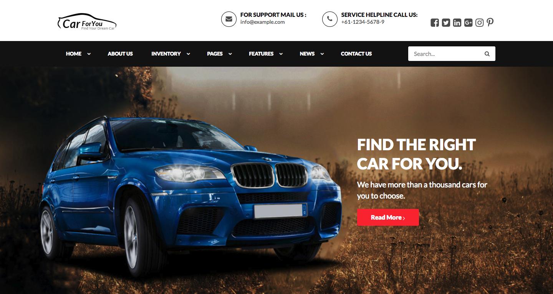 CarForYou – Responsive Car Dealer WordPress Theme.png