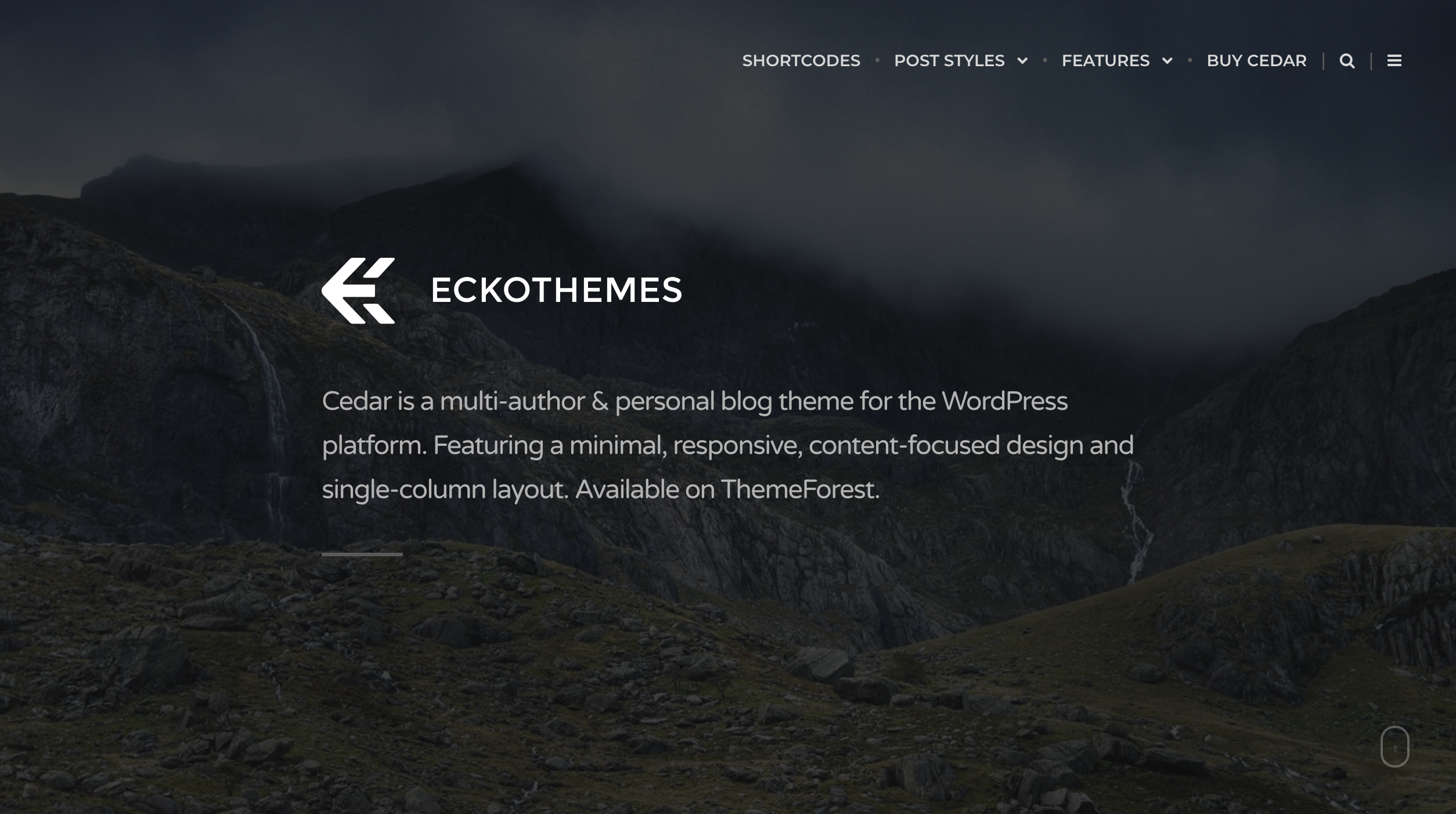 Cedar - Medium like Responsive WordPress Blog Theme.png