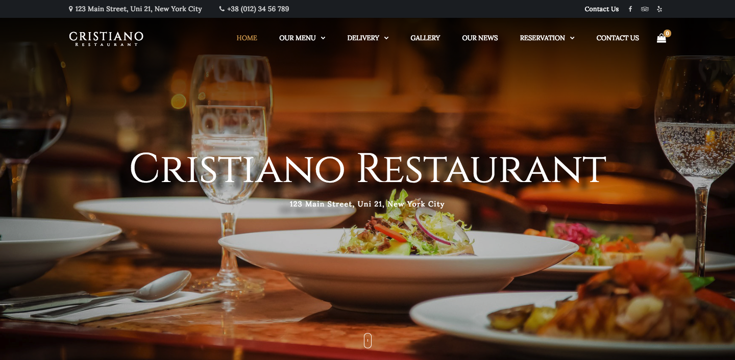 Cristiano Restaurant - Cafe & Restaurant WordPress WooCommerce Theme.png