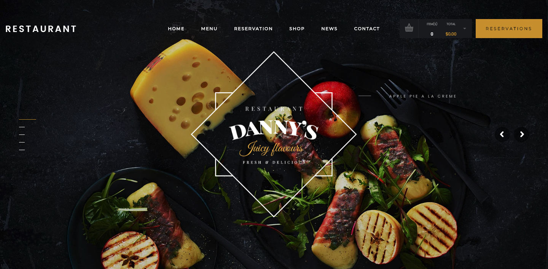 Dannys Restaurant – Dannys Restaurant - Restaurant and Cafe WordPress Theme.png