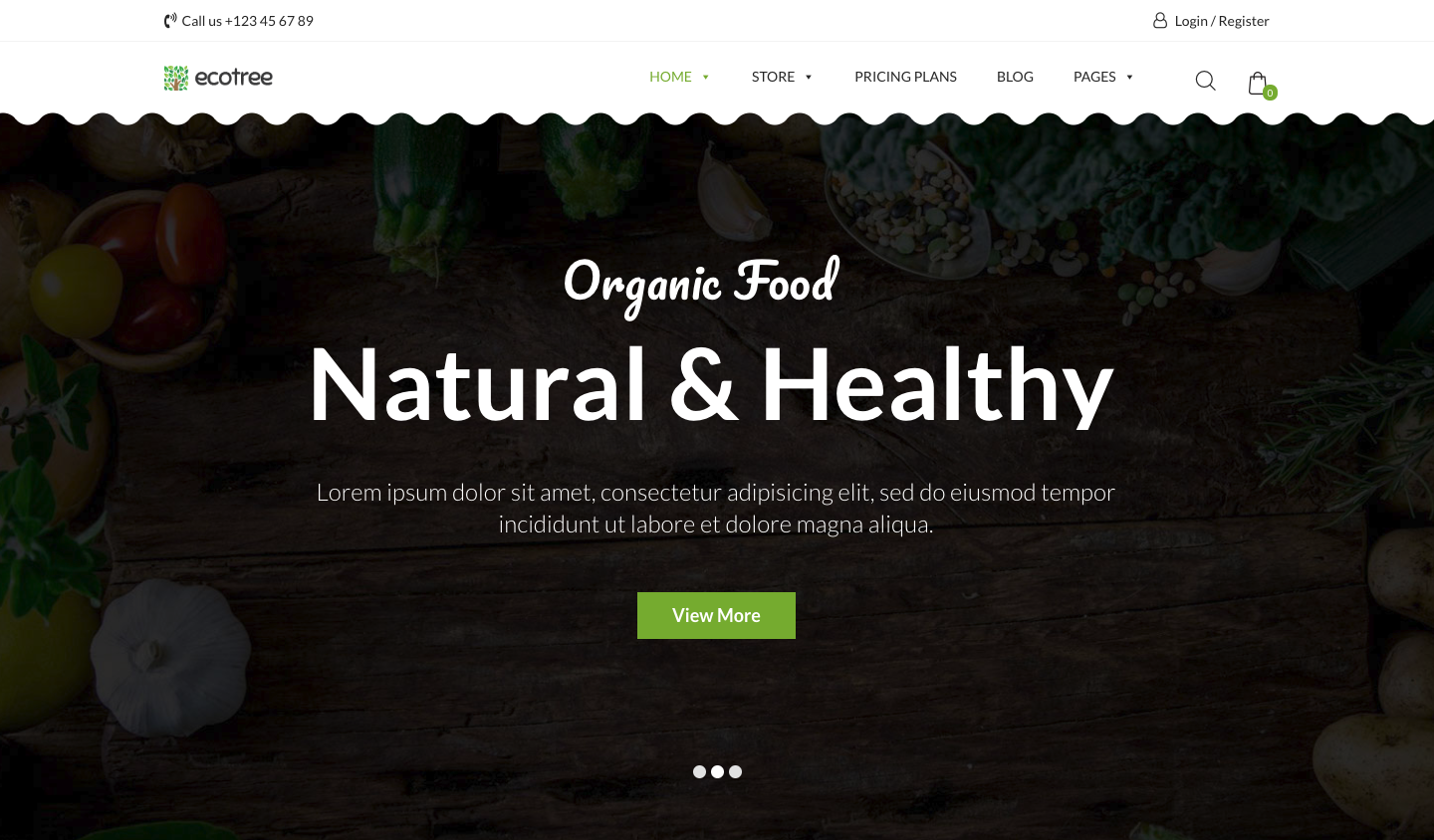 Ecotree – Organic Food, Fruit & Vegetables Products WP Template.png