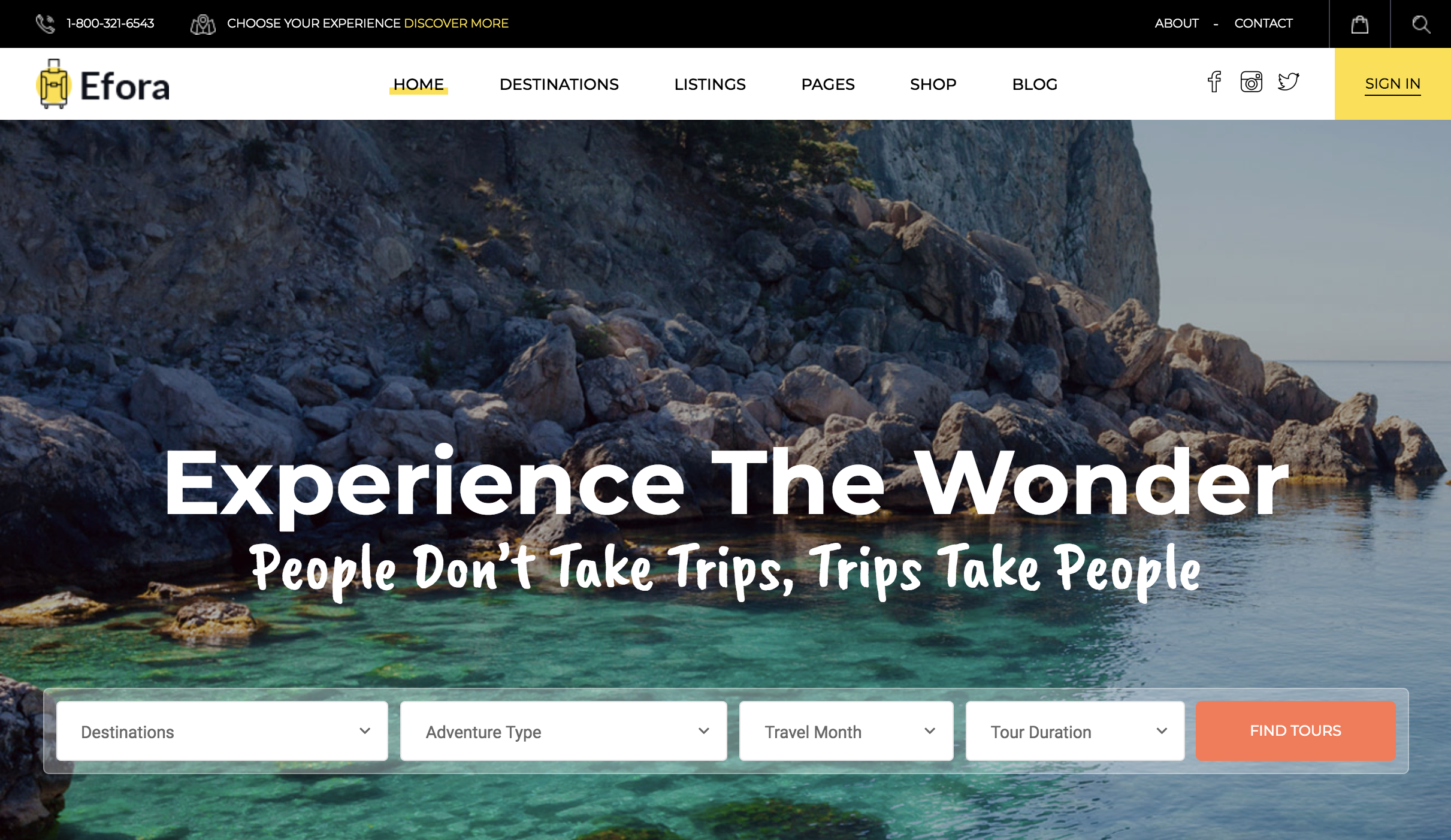 Efora – Travel, Tour Booking WordPress Theme.png