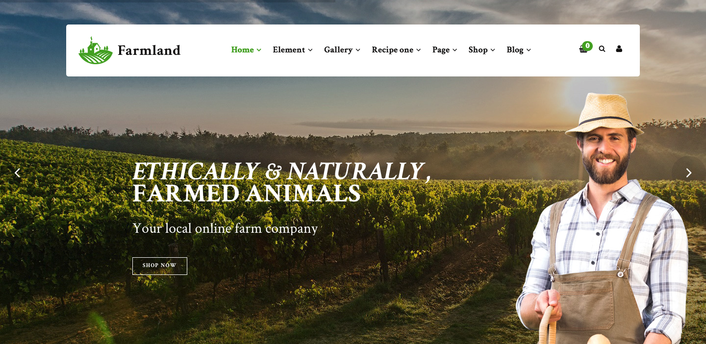 Farmland - Organic Food WooCommerce WordPress.png