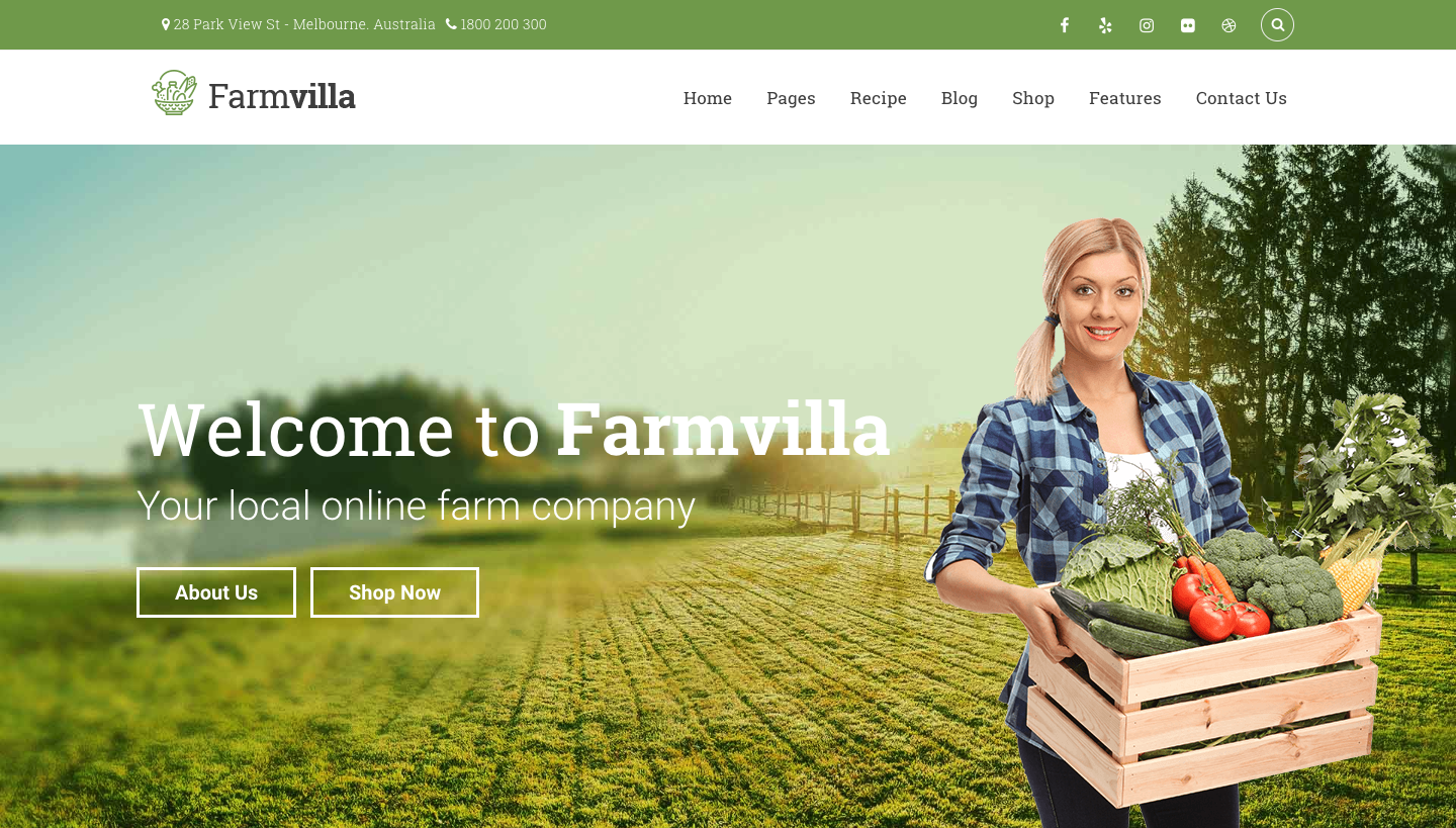 Farmvilla - Organic Food WordPress Theme.png