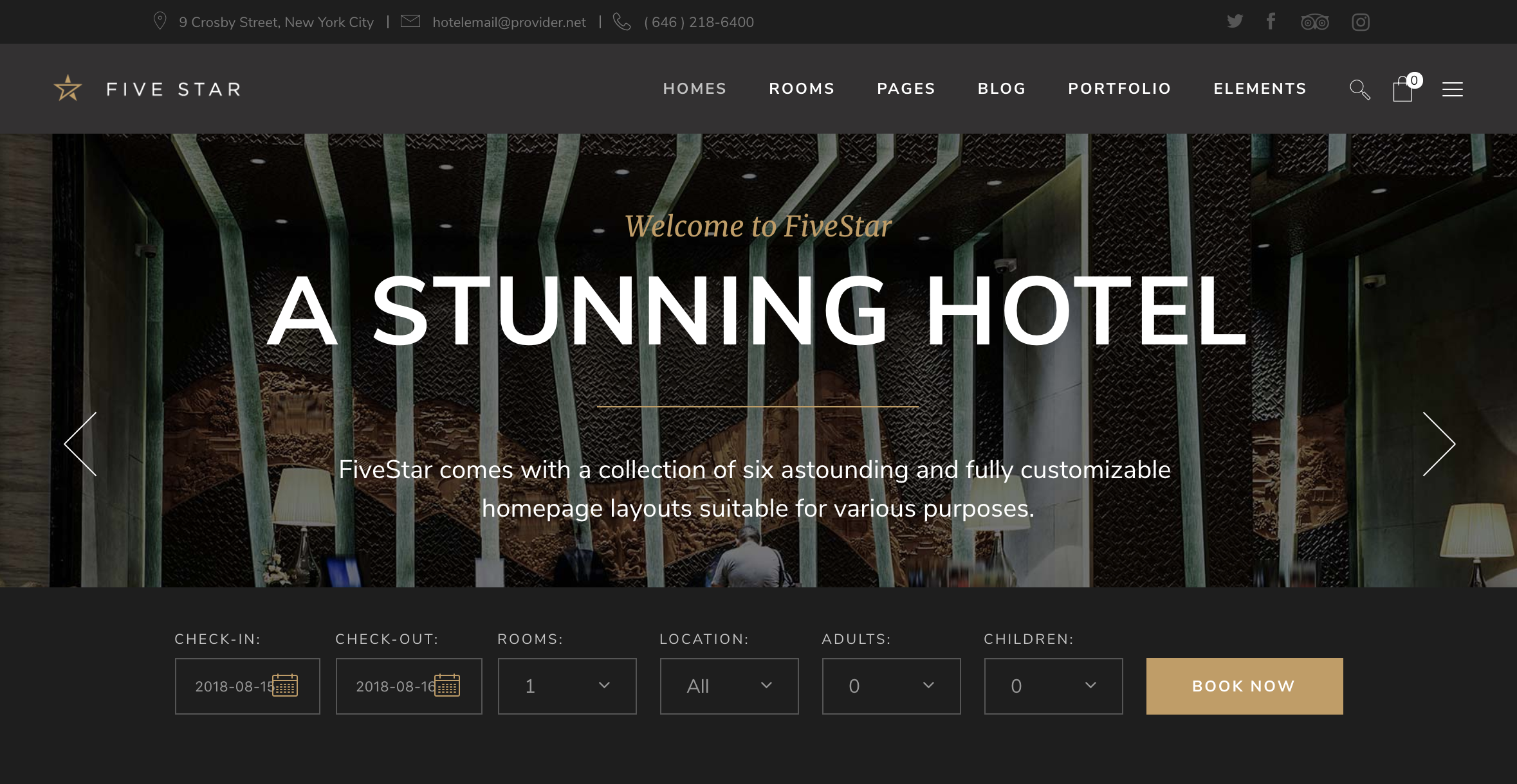 dede982f09b 15+ Hotel, Booking, Apartment, Room, Vacation, Spa WordPress Themes 2019