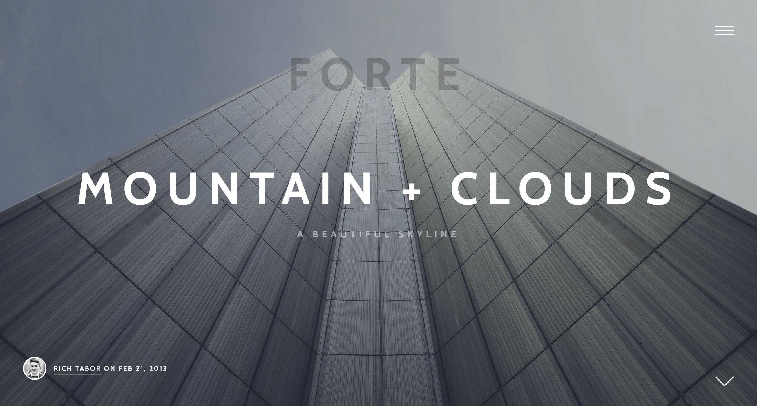 Forte - A Medium like Stylish WordPress Theme for Writers.png