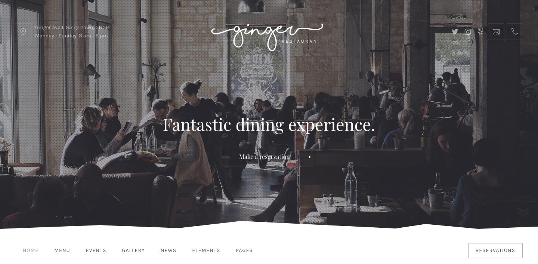 Ginger — Restaurant WordPress Theme.png
