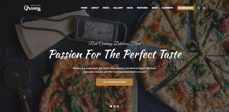 Granny pizzeria pizza wordpress theme.png