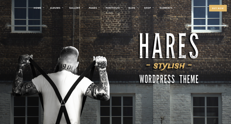 Hares - A Stylish WordPress Theme.png