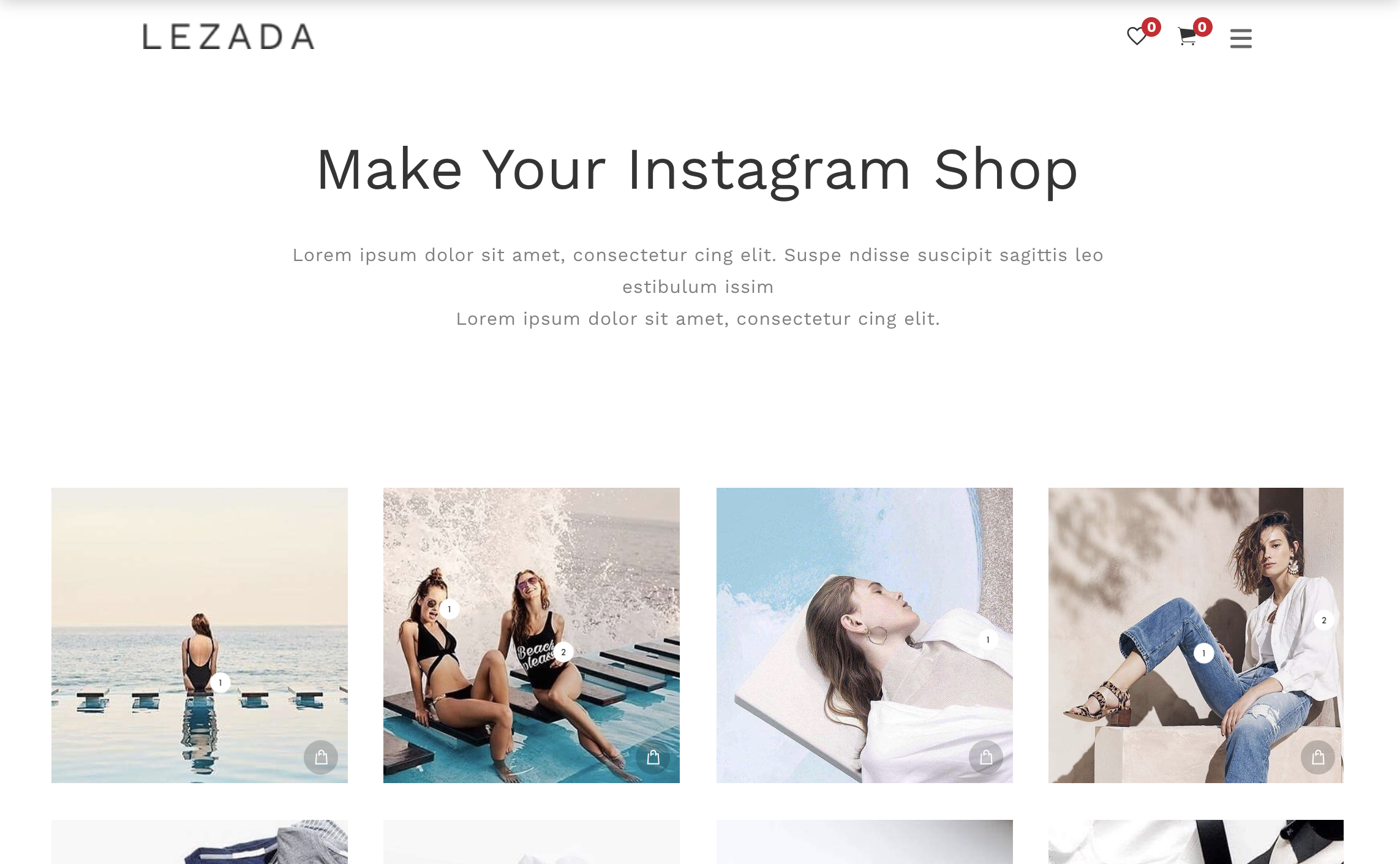 6 Instagram Shop WordPress Themes (BEST OF 2019)