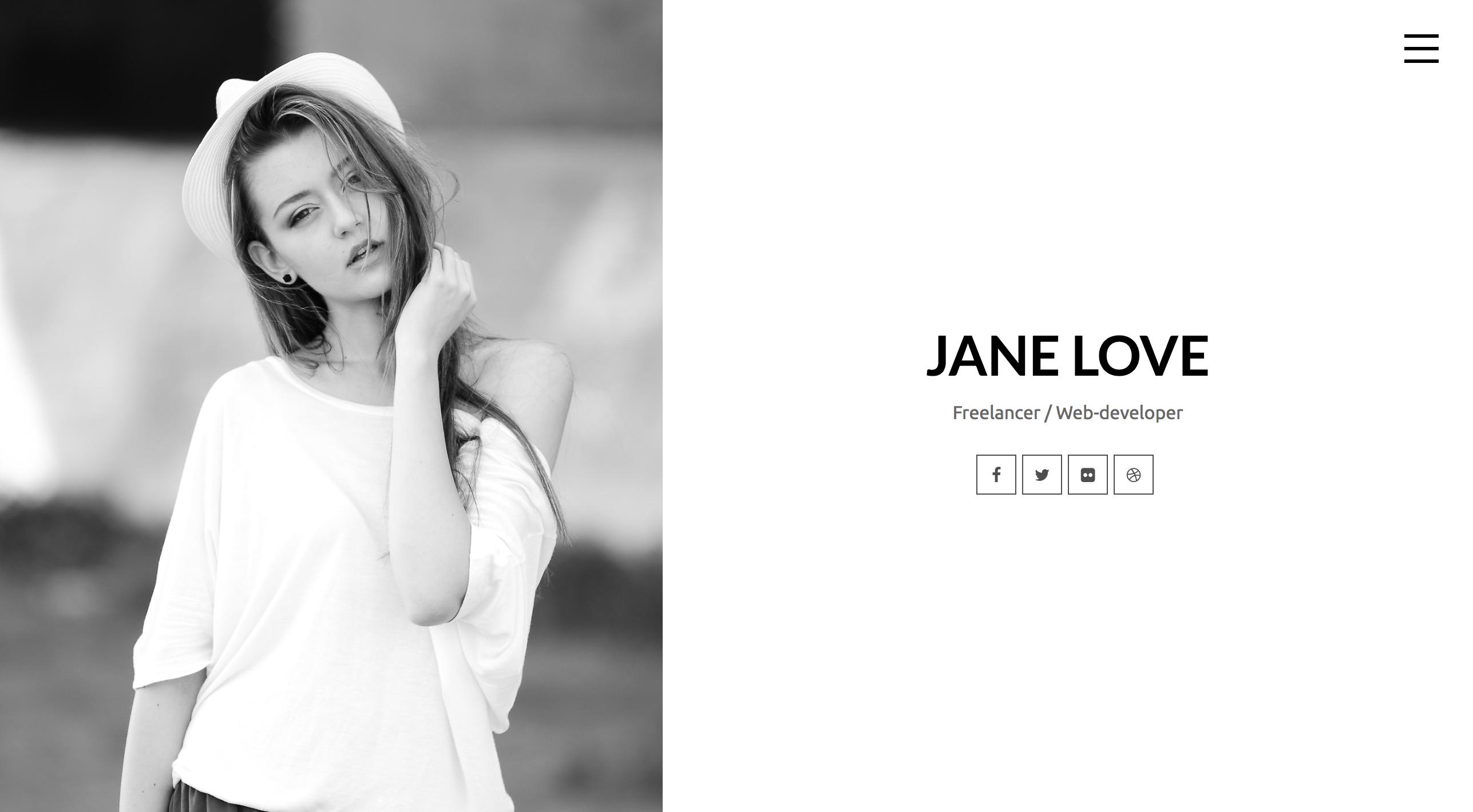 Jane Love - CV Resume WordPress Theme.png