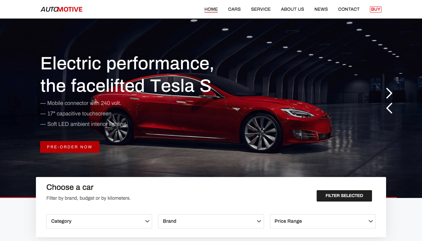 Kalium Automotive WordPress Theme – Luxury car dealer theme.png