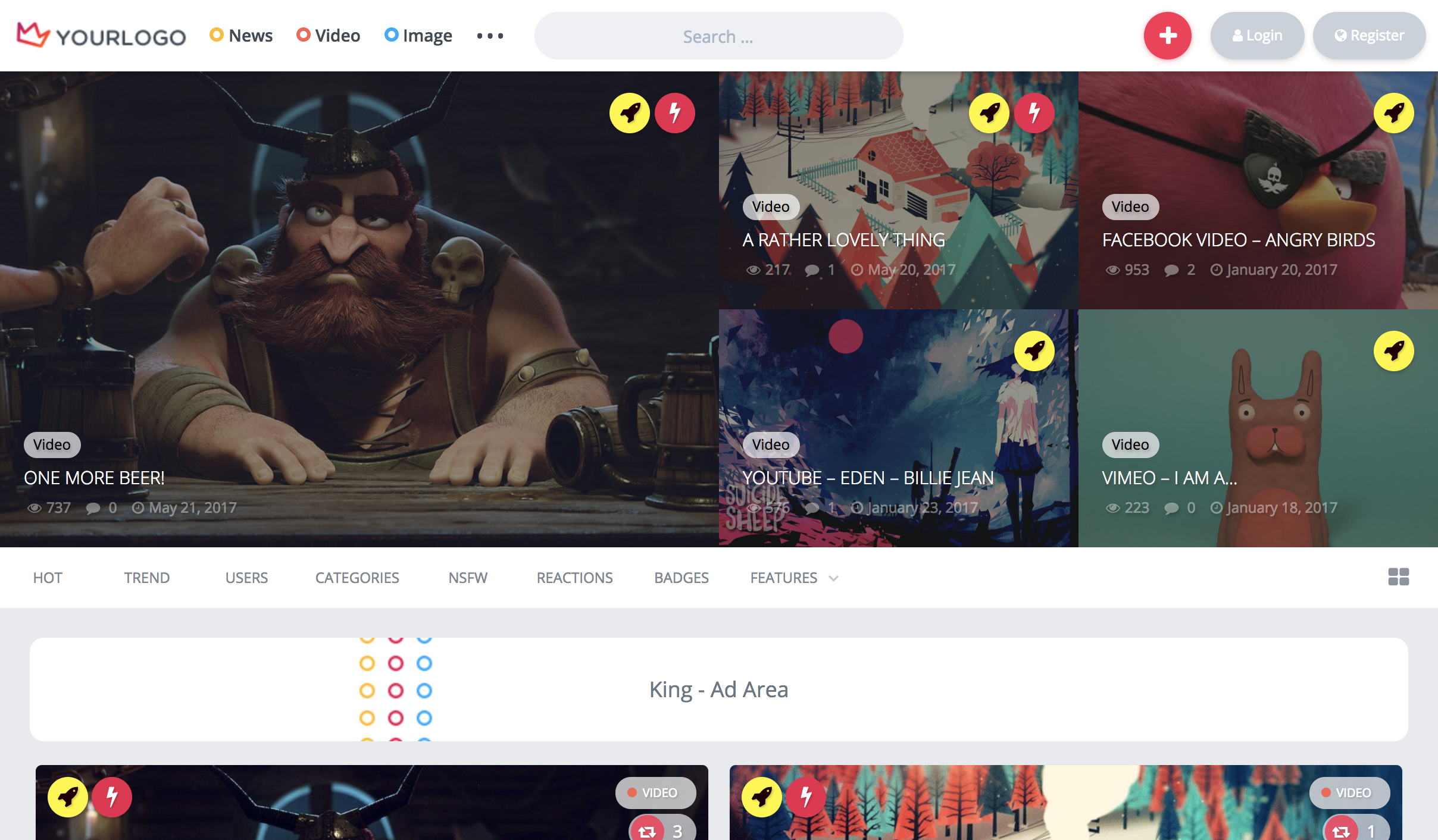 King - WordPress Viral Theme