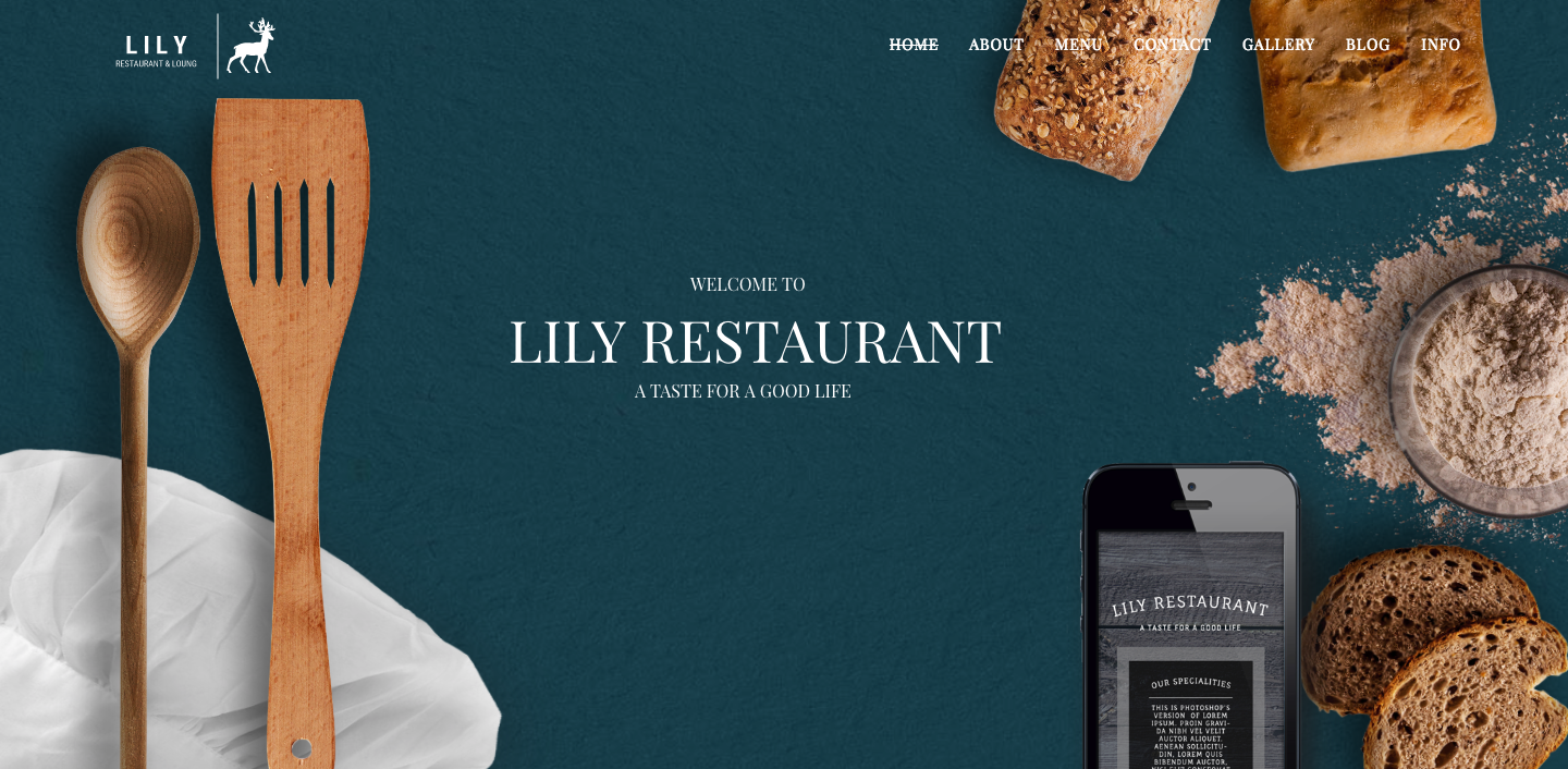 Lily | One Page Restaurant WordPress Theme.png