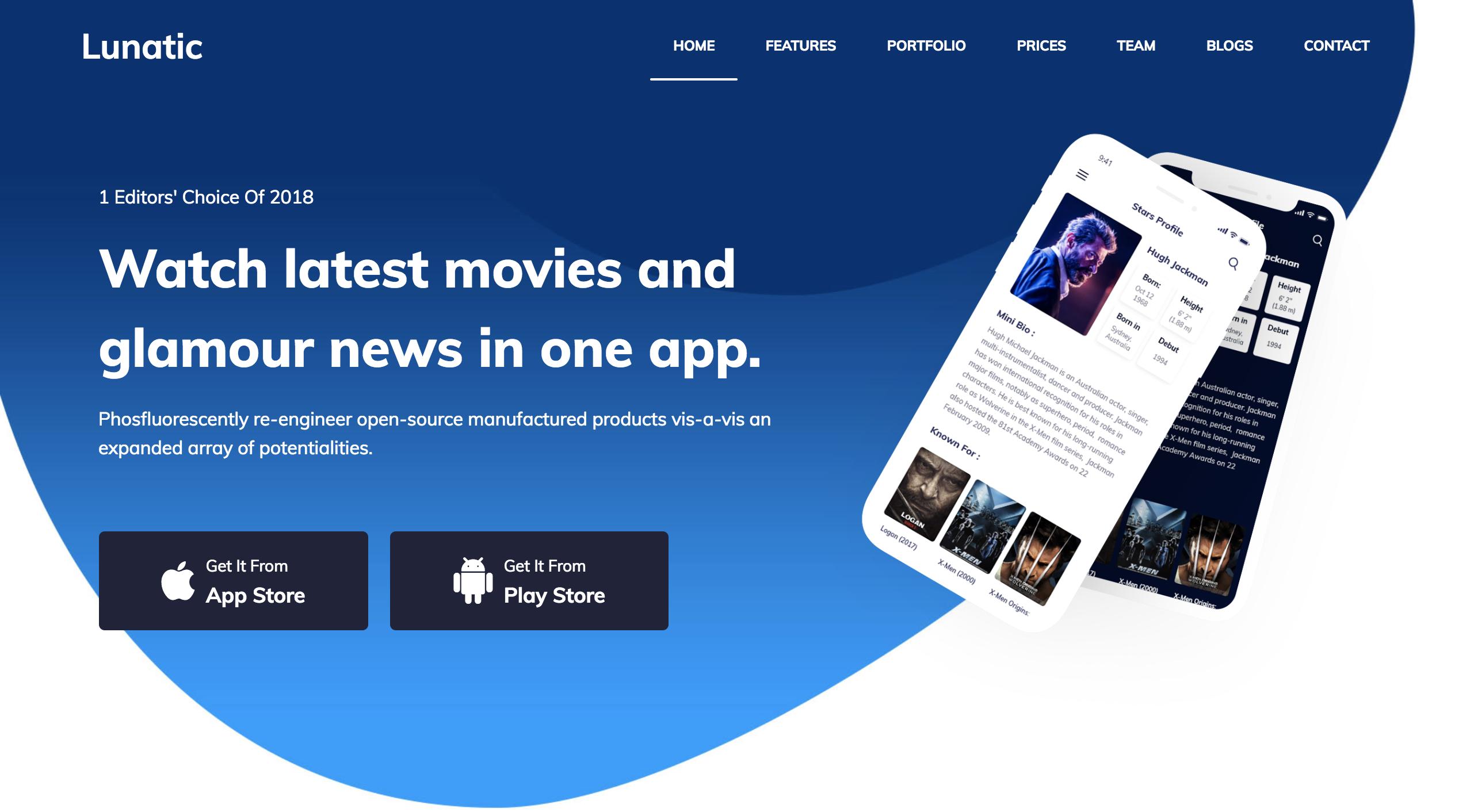 Lunatic Creative App Showcase WordPress Theme.png