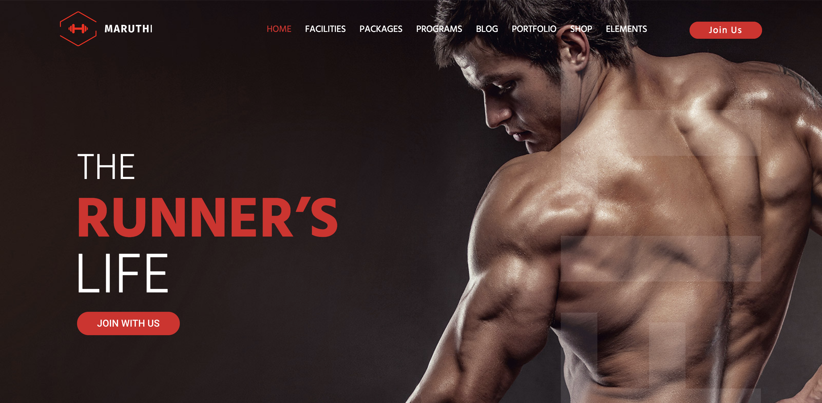 Maruthi Fitness - Fitness Center WordPress Theme.png