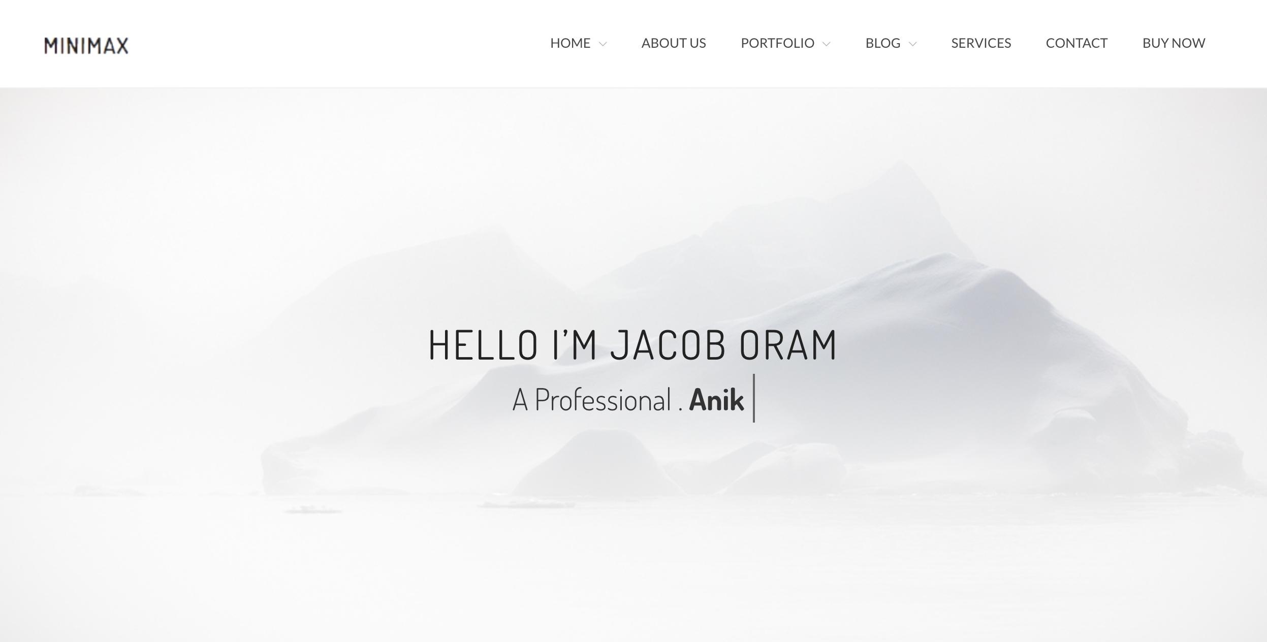 Minimax - Minimal Portfolio WordPress Theme.png