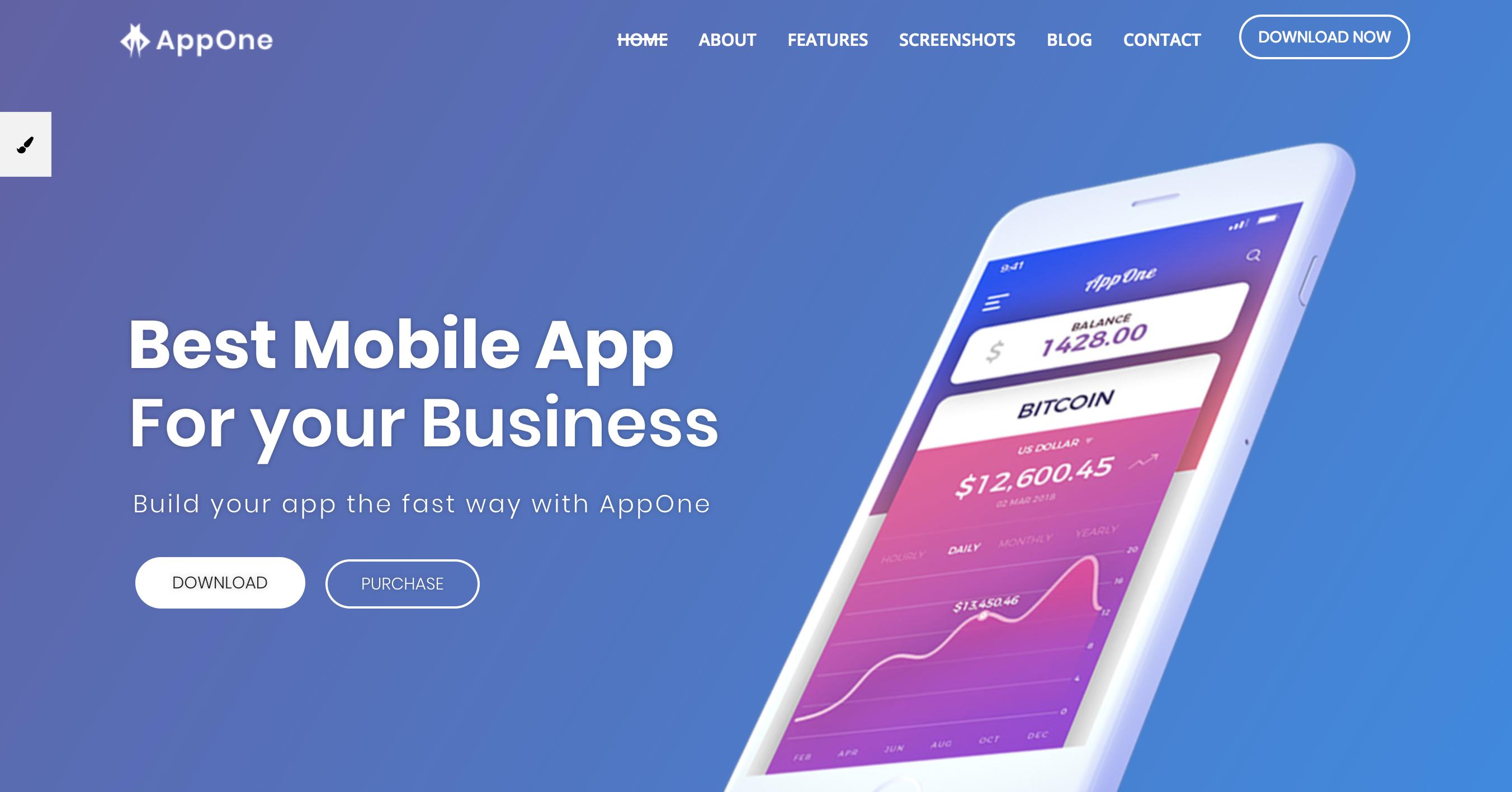 Mobile & App Landing WordPress Theme.png