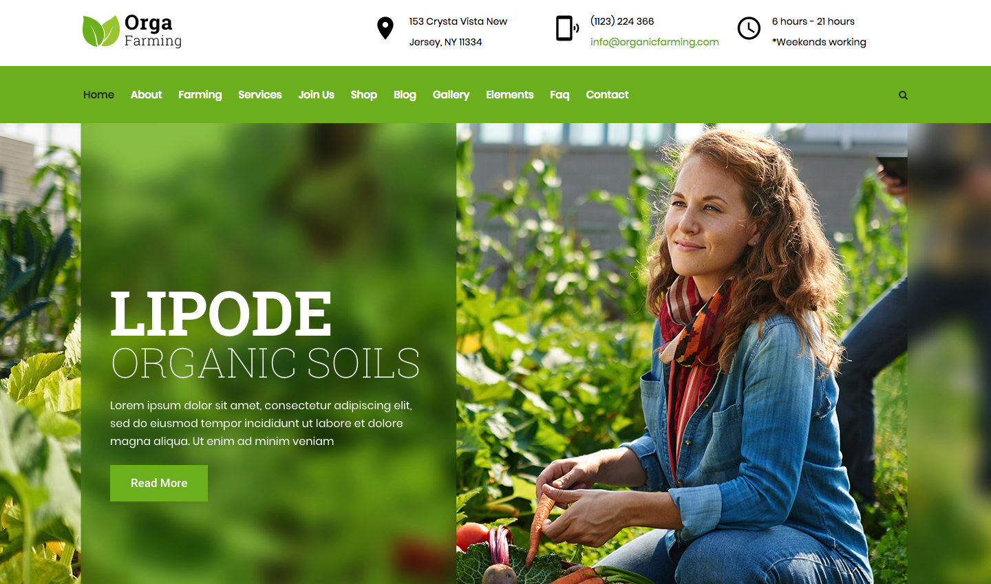Orga Farm - Organic Food, Organic Farm WordPress Theme.png