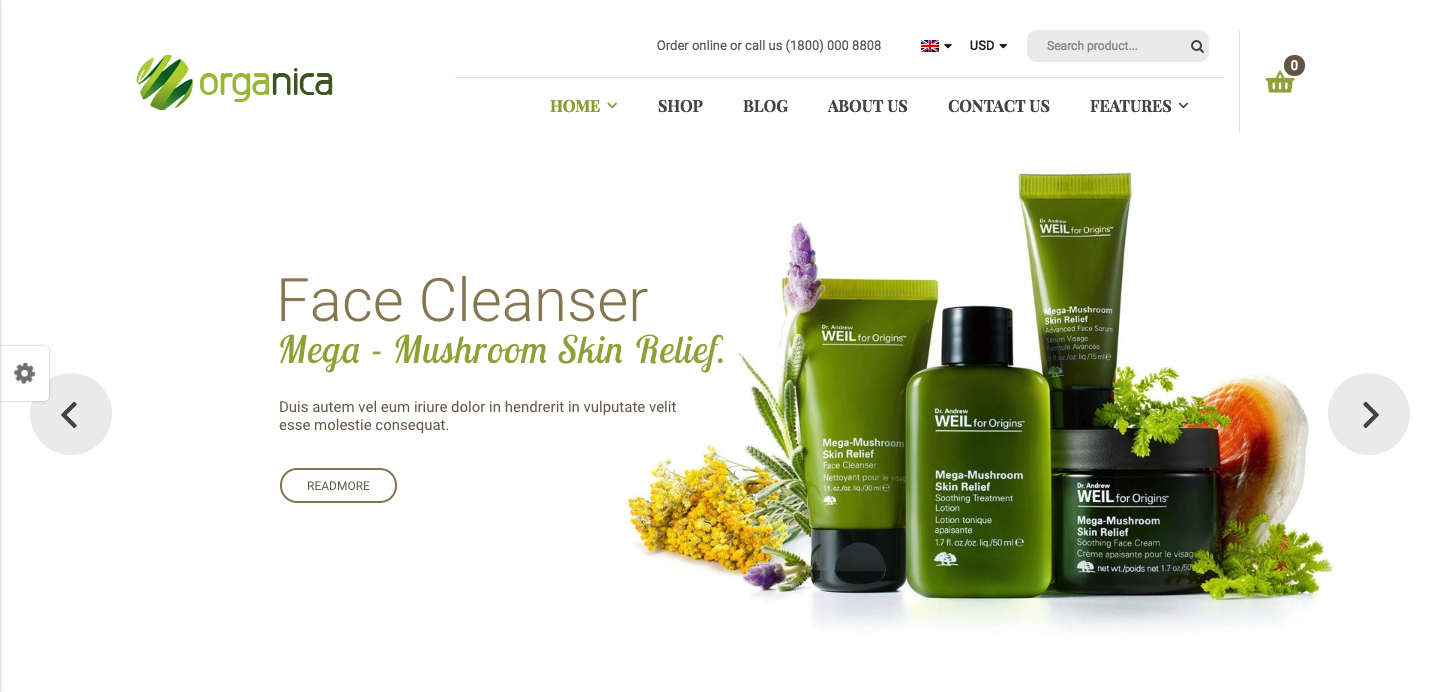 Organica - Organic, Beauty, Natural Cosmetics, Food, Farn and Eco WordPress Theme.png