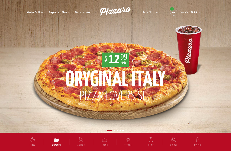 12 Best Pizzeria WordPress Themes 2019