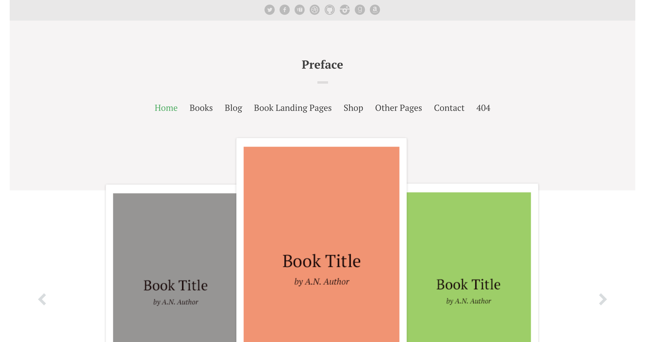 Preface A WordPress Theme for Authors.png