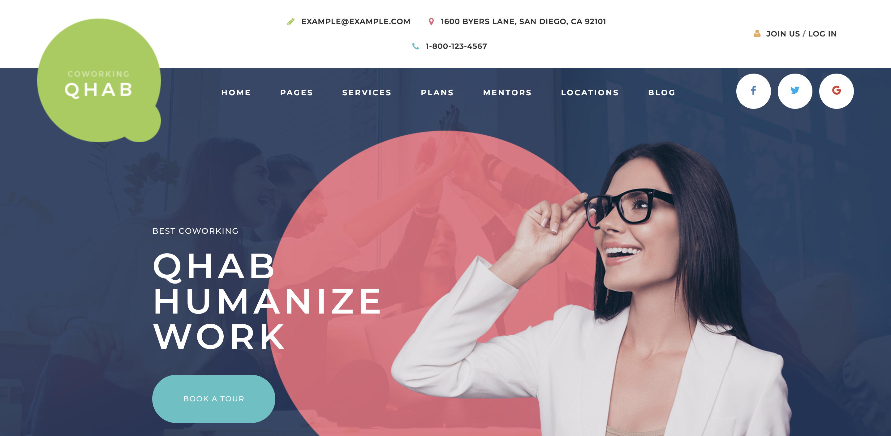 Qhab - Сoworking and Office WordPress Theme.png