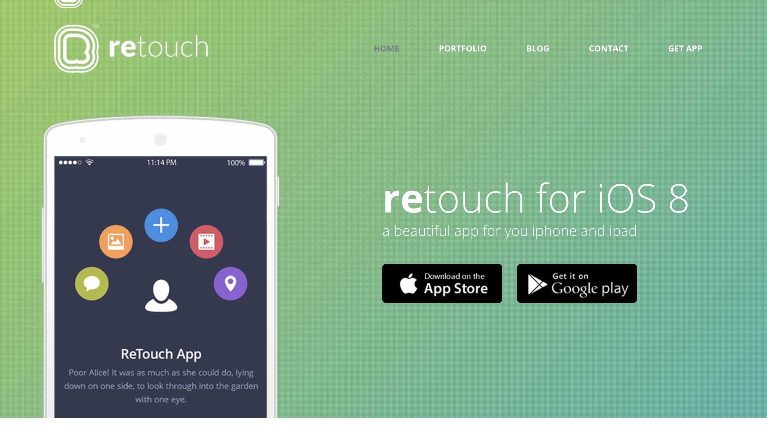 ReTouch App WordPress Theme.png