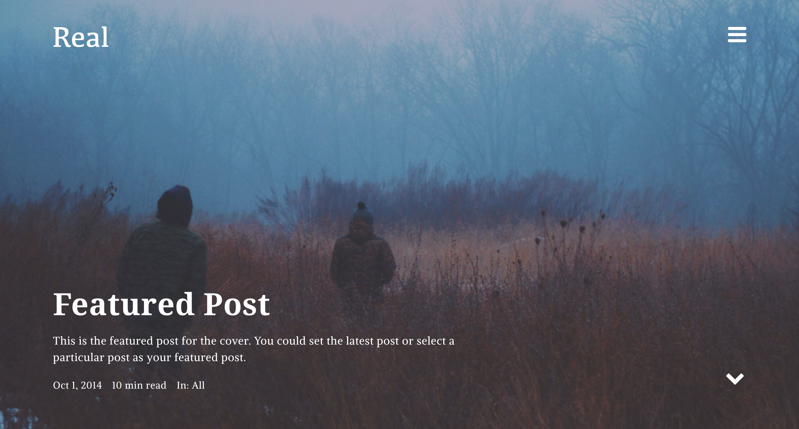 Real - Medium like minimal Responsive Blog WordPress Theme for writers.png