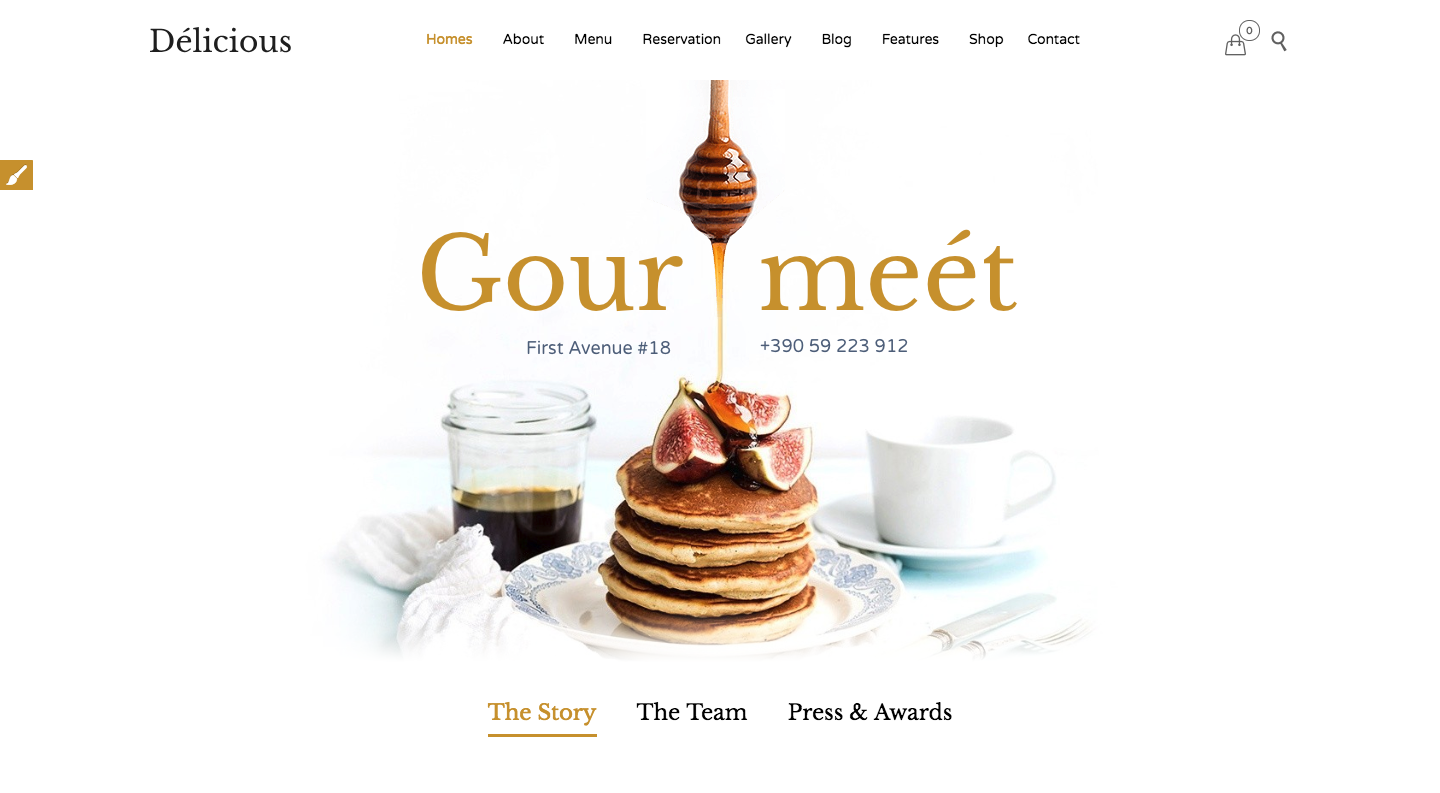 Restaurant Cafe - Theme for Restaurants and Cafes.png