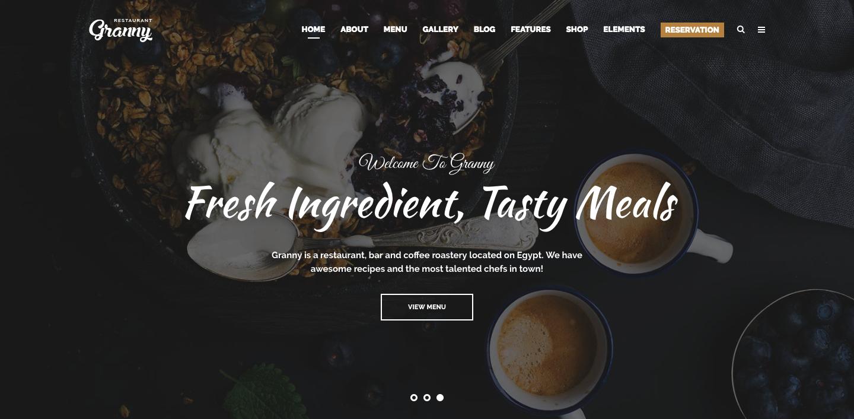 15 Best Restaurant WordPress Themes 2019