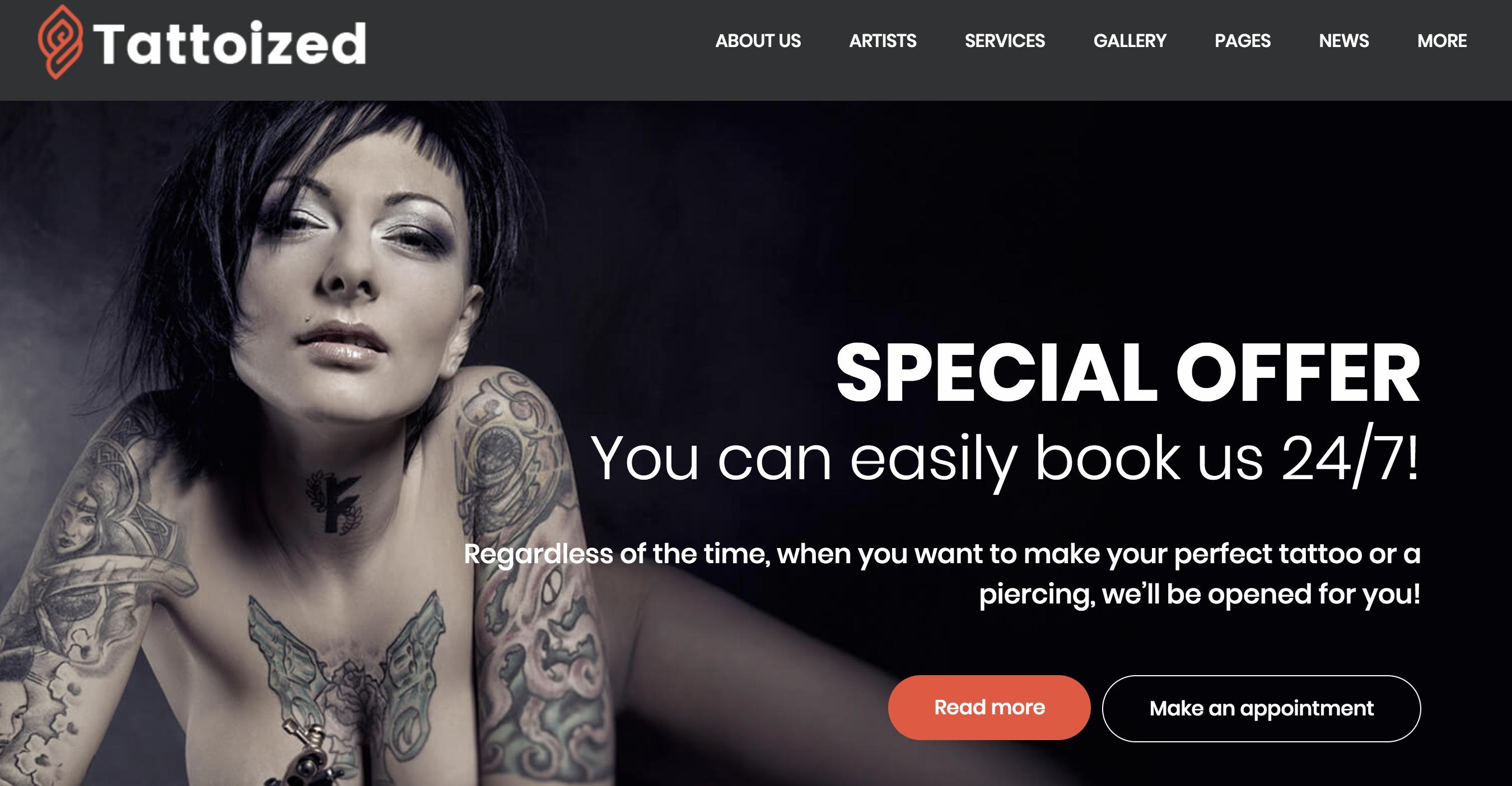 Tattoized - Tattoo Salon WordPress Theme.png