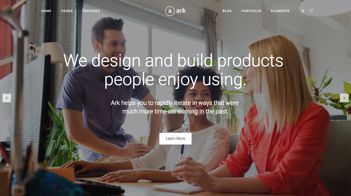 The Ark | WordPress Theme made for Freelancers.png