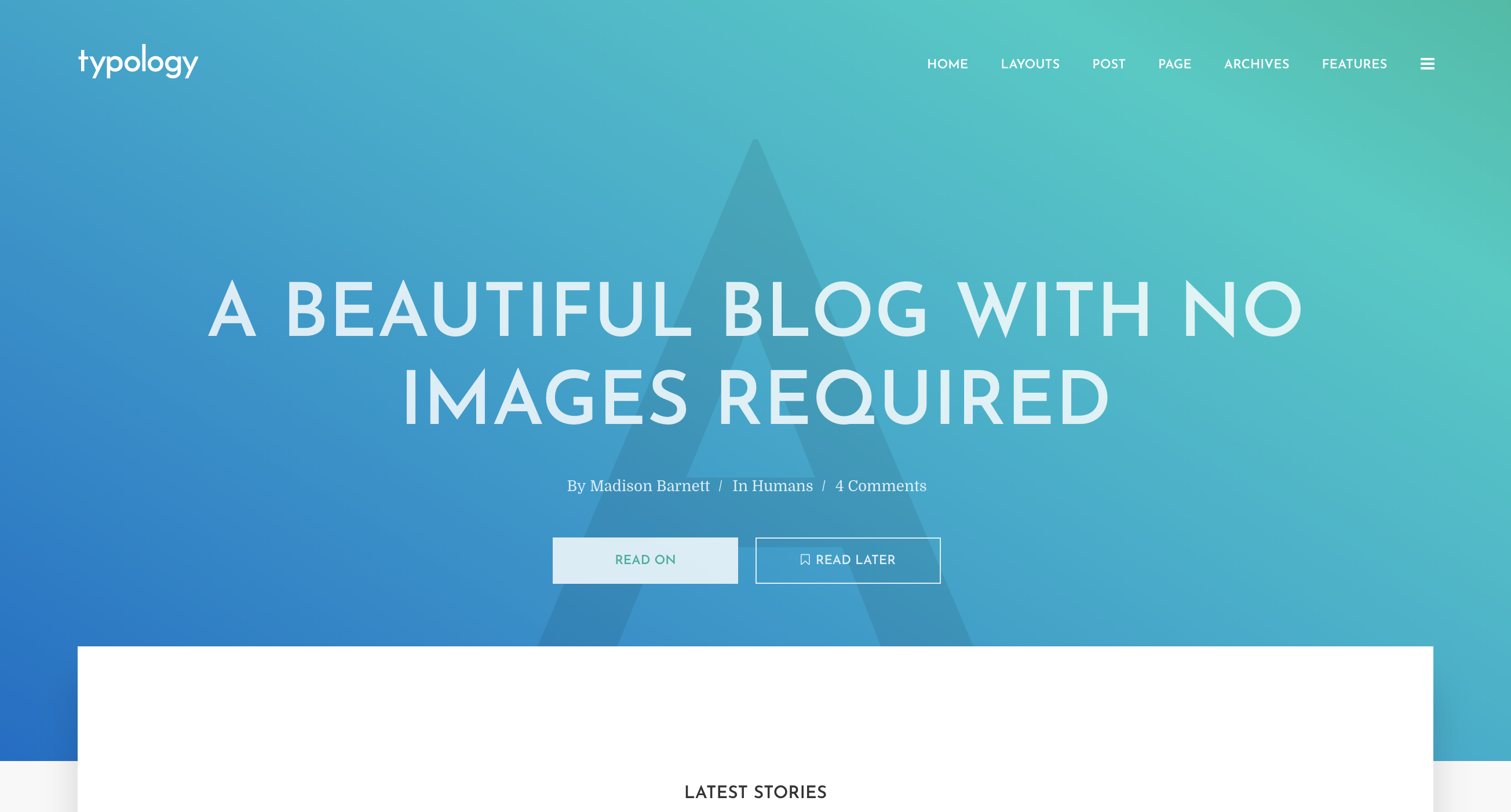Typology - Text Based Minimal WordPress Blog Theme.png