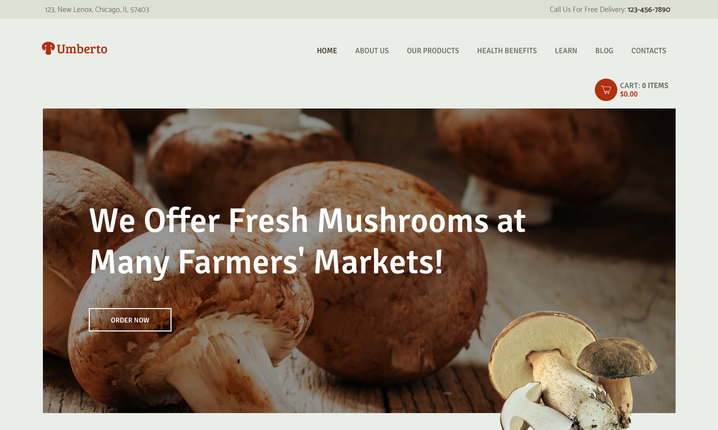 Umberto - Mushroom Farm & Organic Products Store WordPress Theme.png