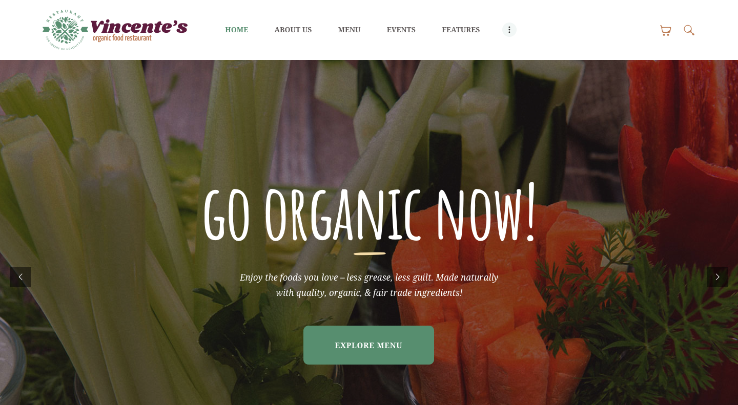 Vincente's | Organic Food Restaurant WordPress Theme.png