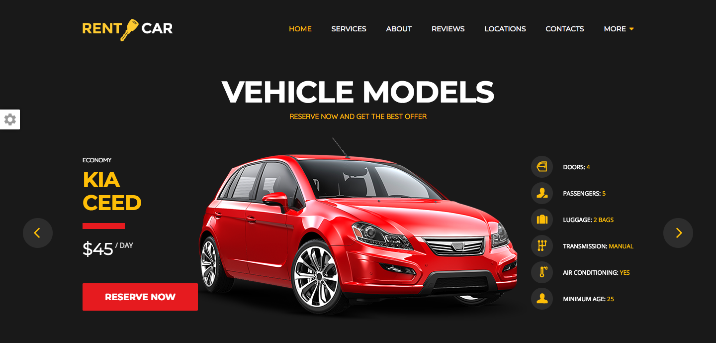Wheelsberry – Car Rental WordPress Theme : Landing Page.png